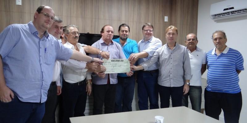 Cerbranorte repassa valores para os hospitais de Braço do Norte e Rio Fortuna Cerbranorte Cerbranorte