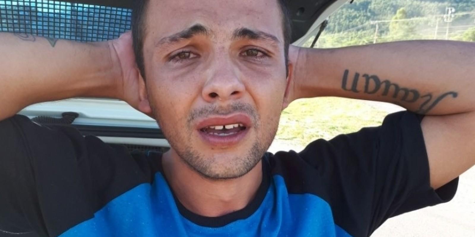 Homem que matou mãe e filho atropelados é encaminhado para o presídio de Tubarão