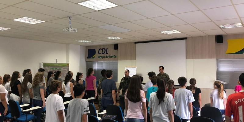 Iniciam aulas dos Protetores Ambientais de Braço do Norte