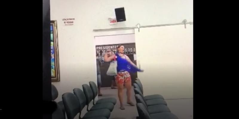 São Ludgero: Casal xinga vereador durante sessão e mulher chega a rasgar a própria roupa