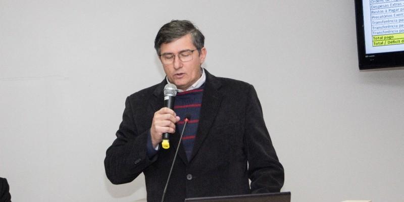 Administração Municipal de Orleans faz prestação de contas referente ao mês de abril na Casa Legislativa