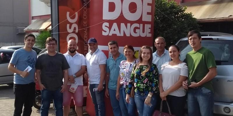 Sãoludgerenses criam grupo para doação de sangue