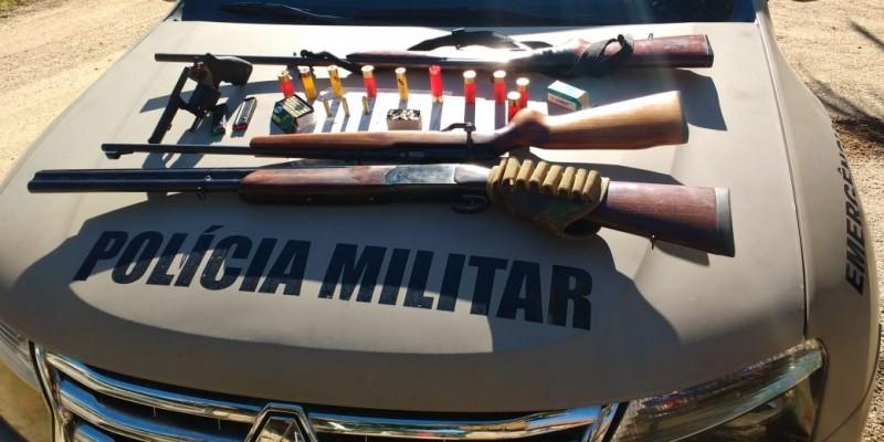 Polícia Militar realiza prisão por violência doméstica e porte ilegal de arma de fogo em Rio Fortuna