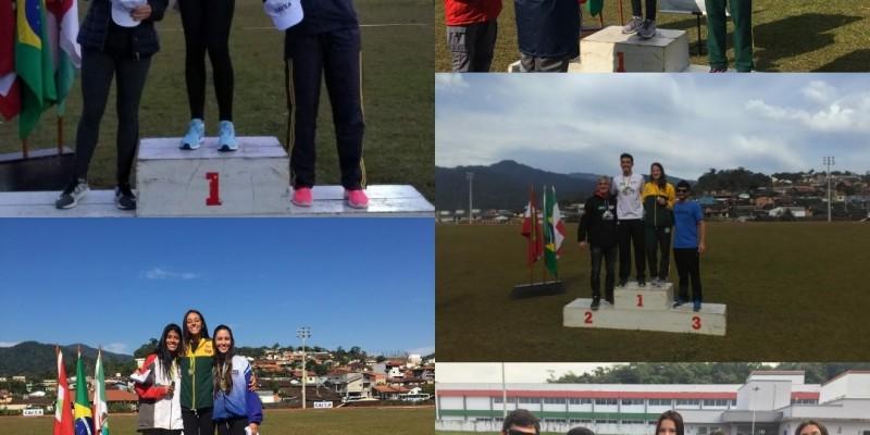 Atletismo de São Ludgero conquista 14 medalhas em Jaraguá do Sul