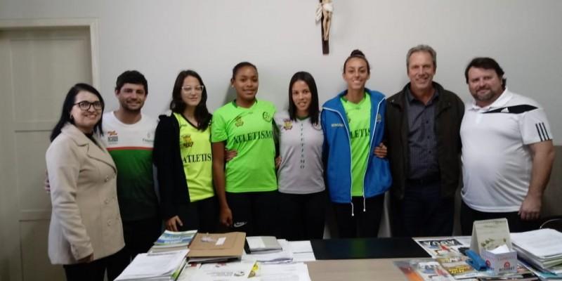 Cinco atletas de São Ludgero disputam o Campeonato Brasileiro Caixa de Atletismo Sub 20