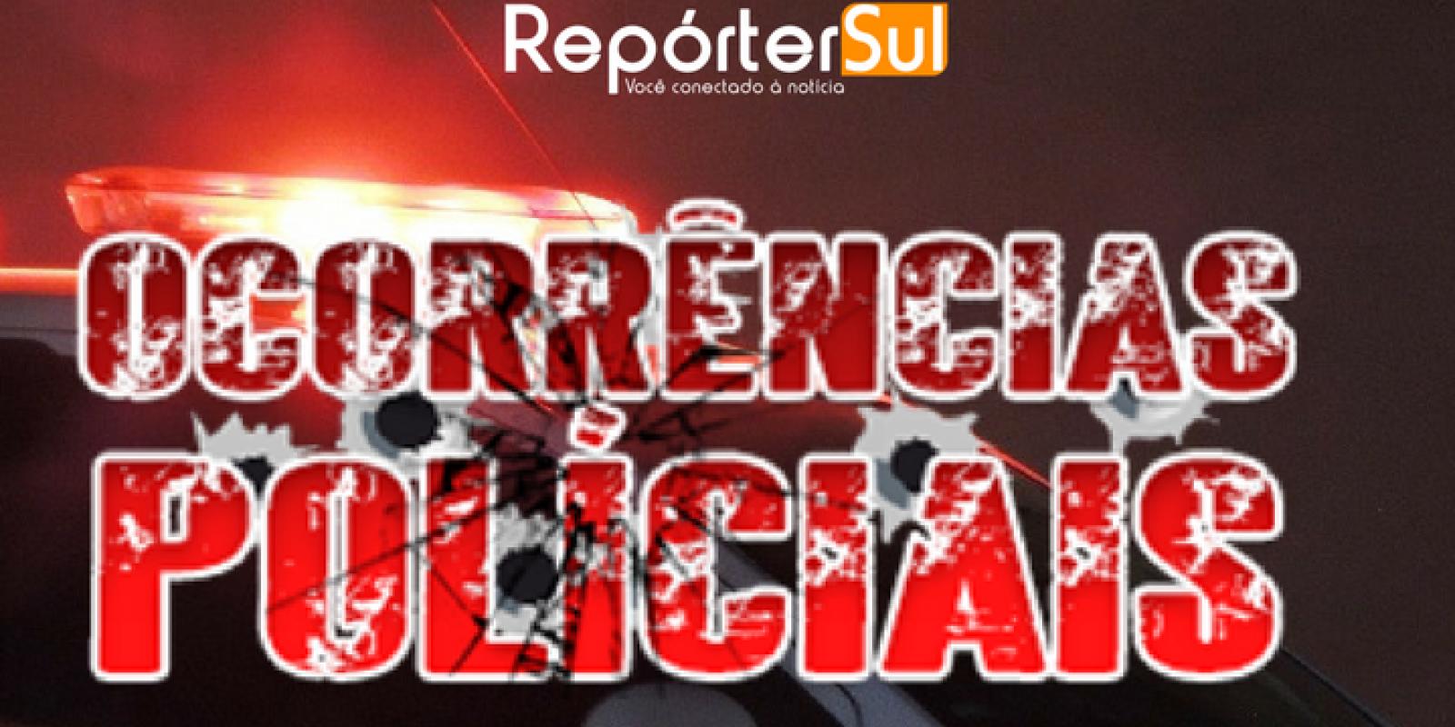 Homem é assaltado enquanto transitava em rua de Braço do Norte