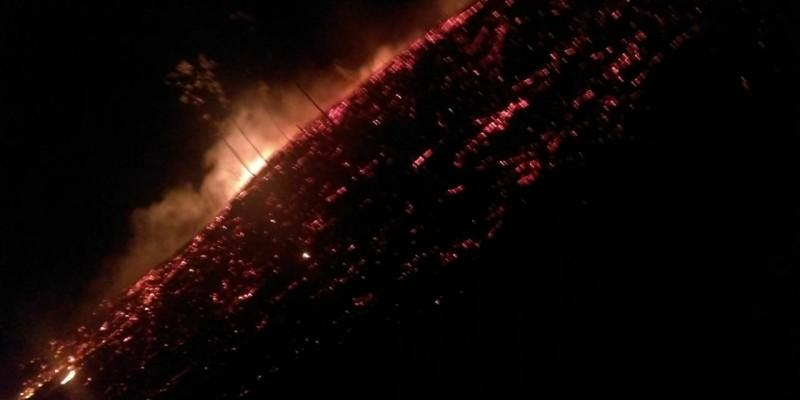 Incêndios criminosos são registrados em Braço do Norte