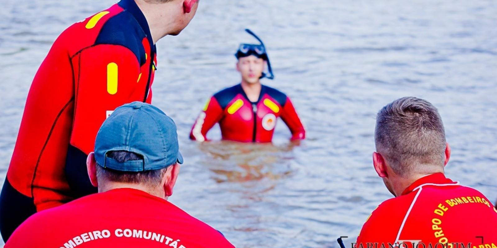 As buscas continuam em São Ludgero onde seis crianças banhavam-se e duas desapareceram