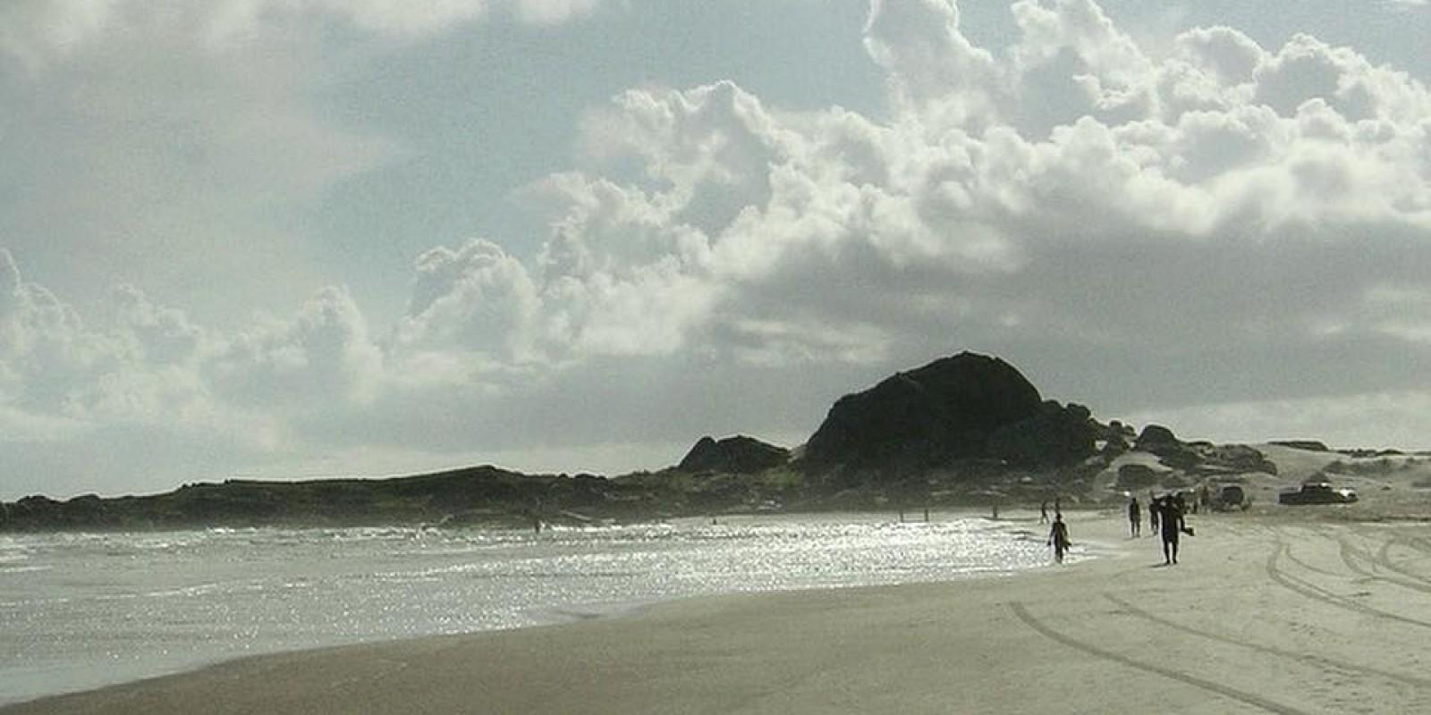 Jovem desaparece na praia do Ipuã, em Laguna
