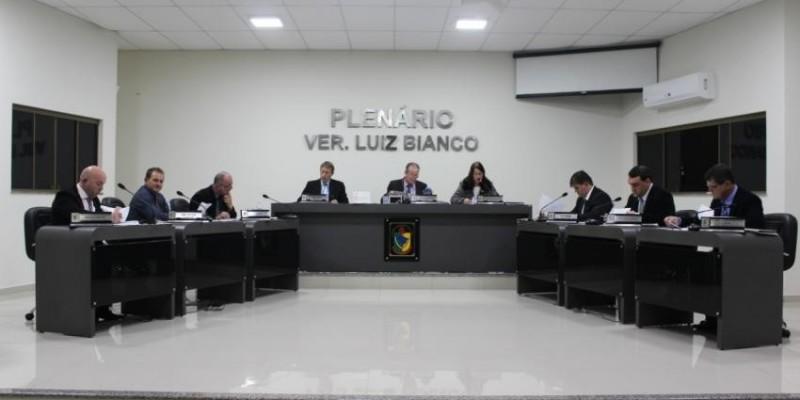 Sessão de segunda - feira, 02 de julho, na Câmara de São Ludgero