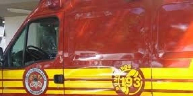 Imbituba: Colisão entre caminhão e moto deixa dois feridos