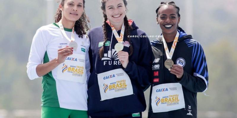 Atleta de São Ludgero conquista o maior prêmio de atletismo de Brasil.