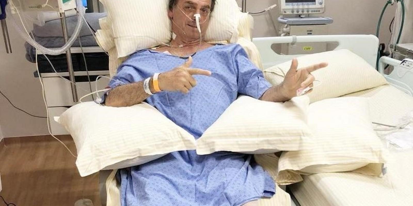 Urgente: Bolsonaro é levado ao centro cirúrgico para operação de emergência