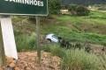 Homem perde controle de veículo as margens da SC-108 entre BN e SL