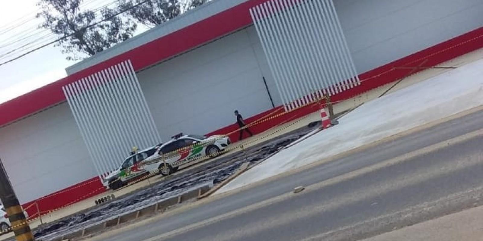 Adolescentes em forro de Loja de Atacados geram tumulto e falsa noticia de assalto