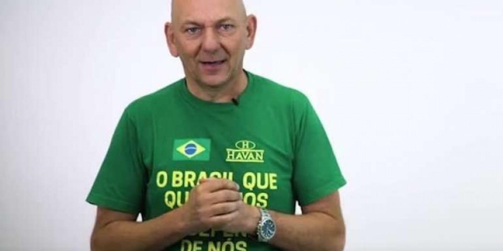 Dono da Havan terá que publicar vídeo garantindo direito de empregados escolherem candidatos