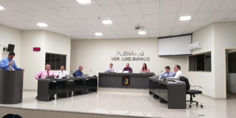 Confira os assuntos da sessão ordinária de segunda-feira, 26 de novembro de 2018, na Câmara Municipal de São Ludgero.