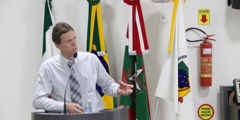 Deputado eleito, Volnei Weber, fala sobre suas intenções no Legislativo de SC