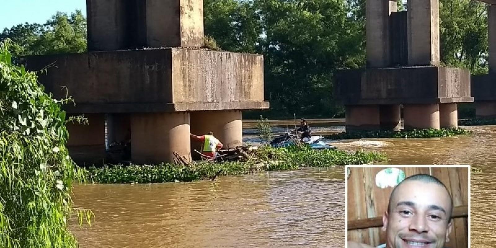Homem de 33 anos segue em estado grave após queda em rio