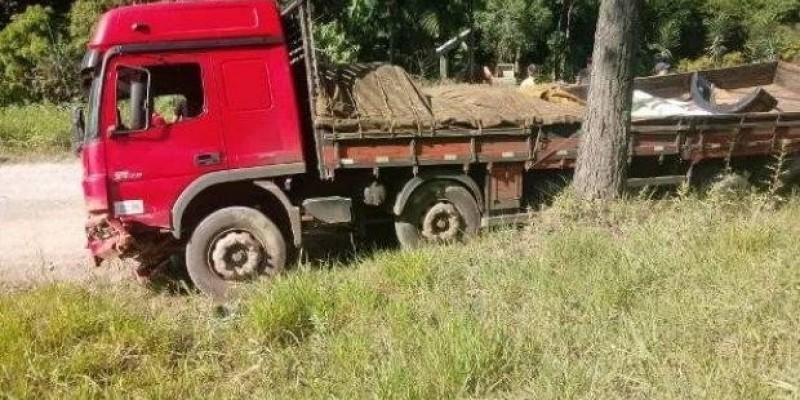 Motorista de caminhão morre na BR-470 em Trombudo Central