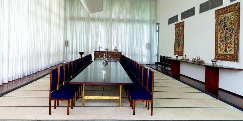 Residência oficial da Presidência volta à ambientação original de Niemeyer