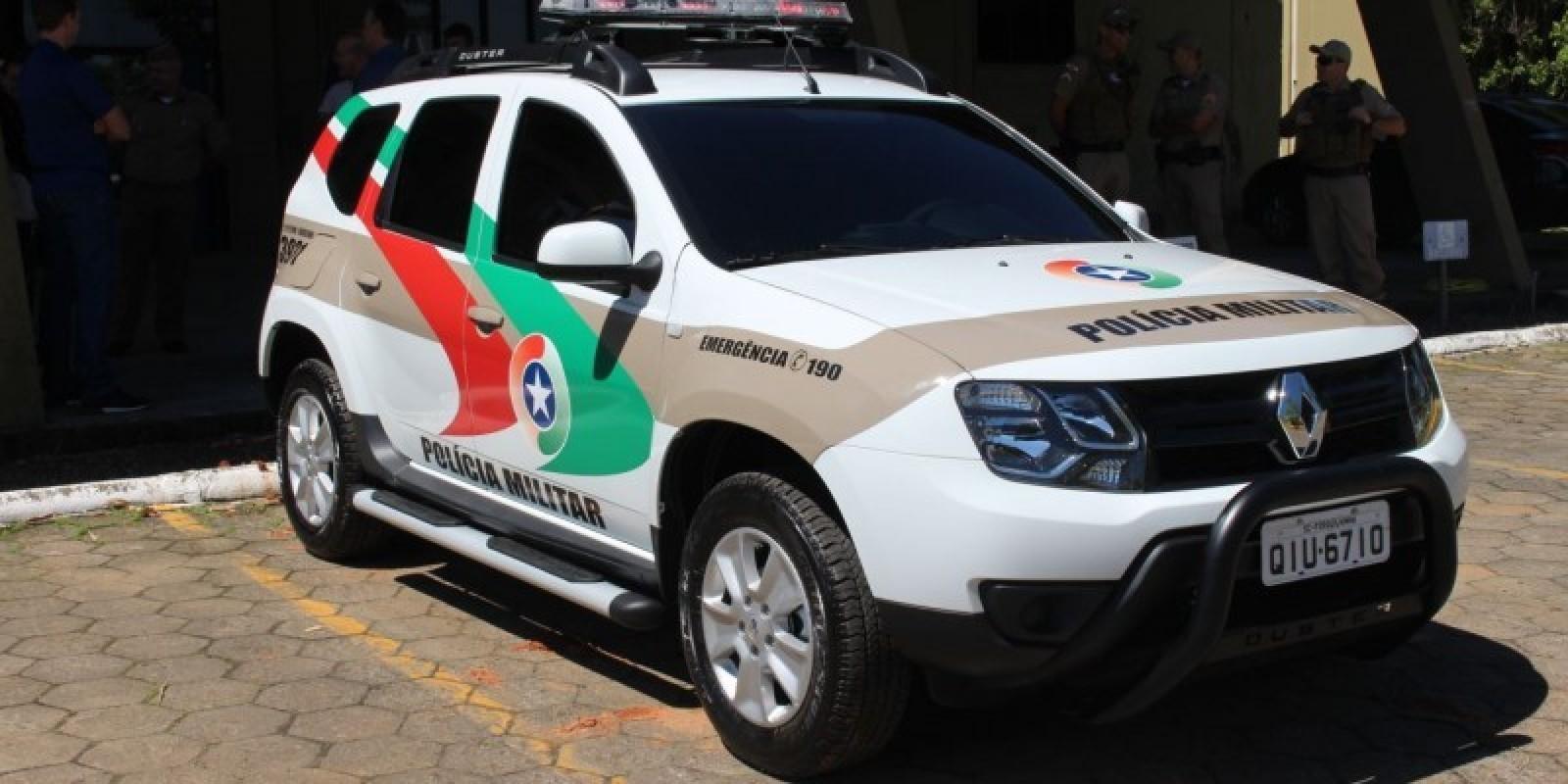 Carro Gol foi furtado nesta manhã de sábado em São Ludgero