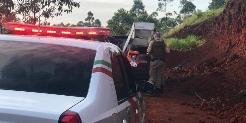 Corpo é encontrado dentro de veículo às margens do Anel Viário em Içara
