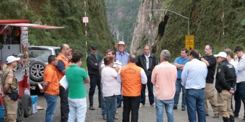 Serra do Corvo Branco é reaberta ao tráfego após vistoria