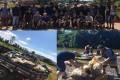 210 quilos de lixo foram recolhidos em ação do Rotary Club e Caiaqueiros de...