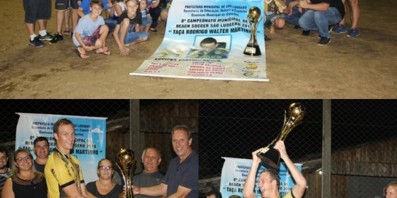 Dragon e Santo Antônio decidem  Municipal de Beach Soccer de São Ludgero