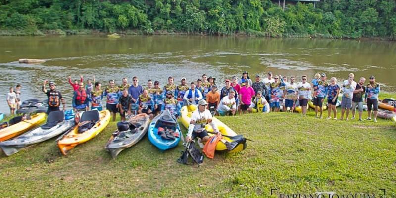 Rotary Clube de São Ludgero em parceria com caiaqueiros  promove ação ambiental neste domingo (24)