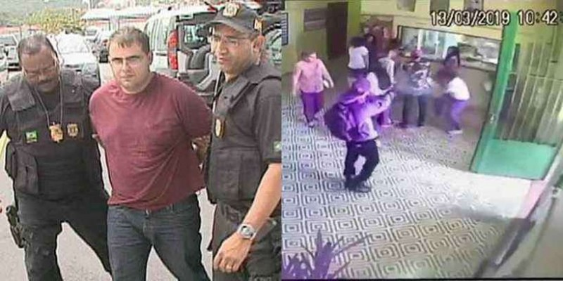 Site de extremista brasiliense deu dicas a autores de massacre em Suzano