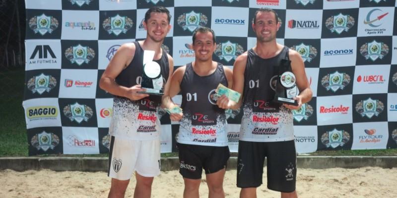 Futevôlei: Dupla de Braço do Norte vence torneio contra grandes talentos do estado