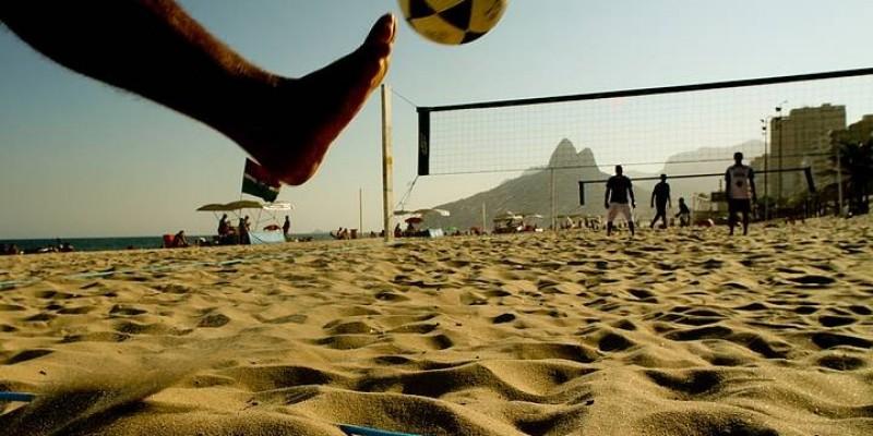 Dezoito equipes disputarão o 1º Campeonato Municipal de Futevôlei de São Ludgero