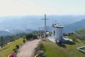 Homem cai em precipício no Morro da Cruz, em São Ludgero