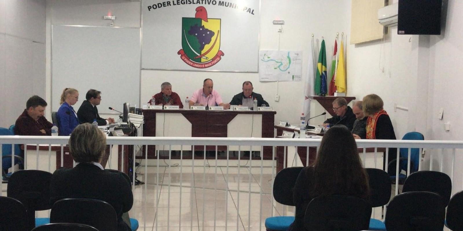 Confira os assuntos da sessão ordinária desta terça - feira, 14, na Câmara Municipal de Santa Rosa de Lima