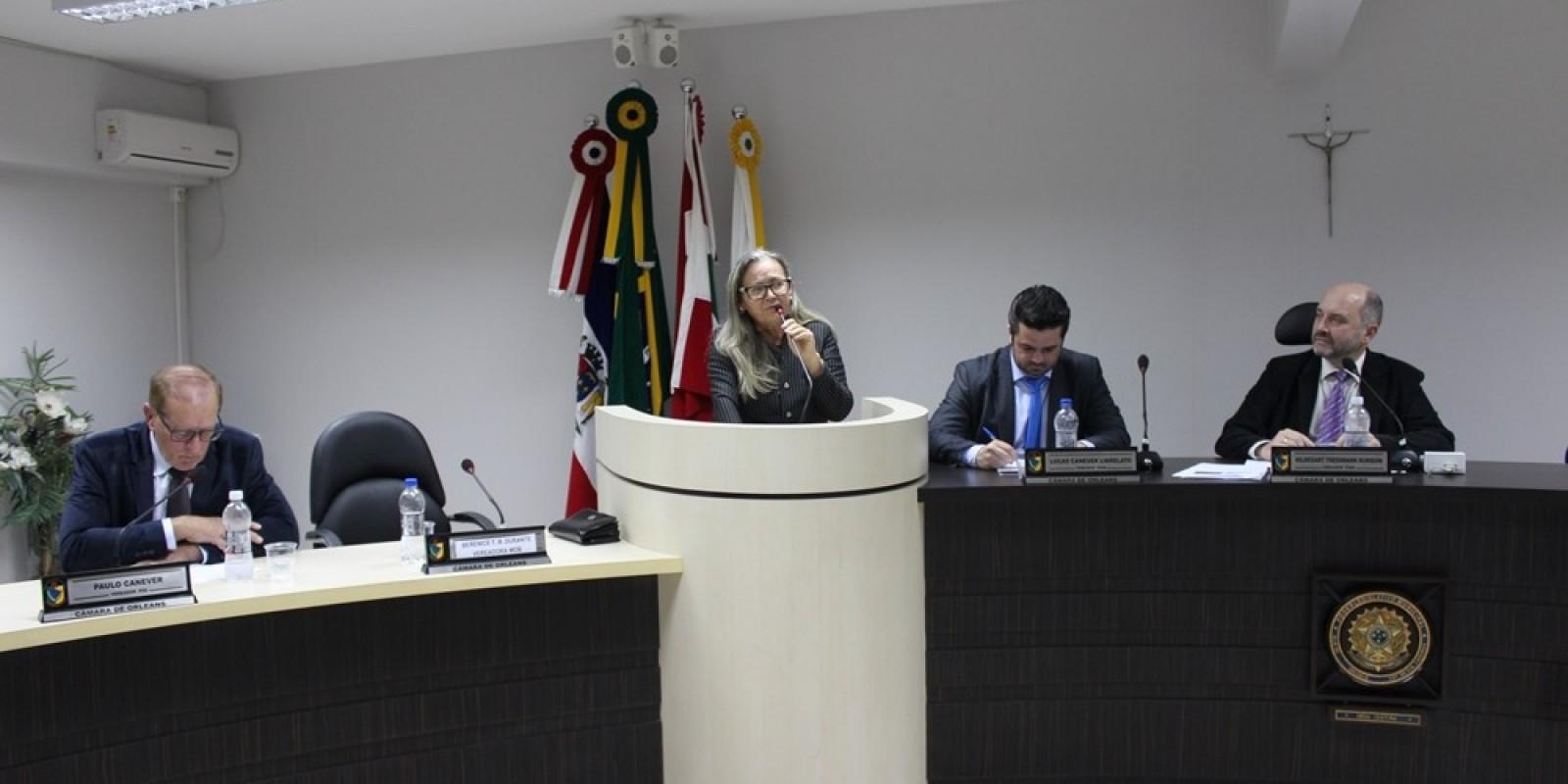 Confira os detalhes da sessão ordinária do dia 03 de Junho, na Câmara Municipal de Orleans