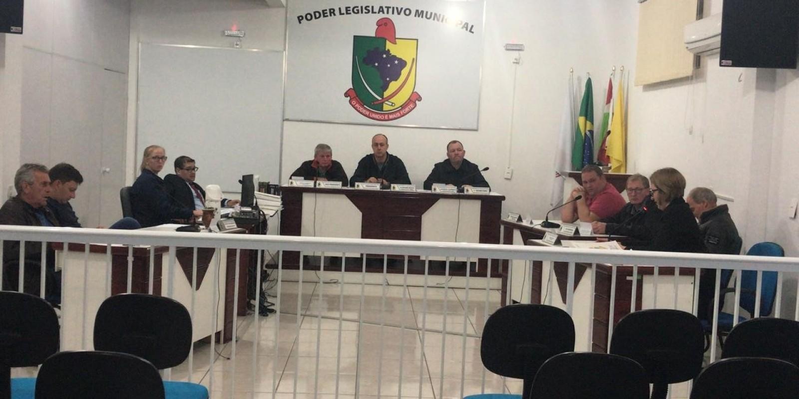 Confira como foi a sessão desta terça - feira, na Câmara Municipal de Santa Rosa de Lima
