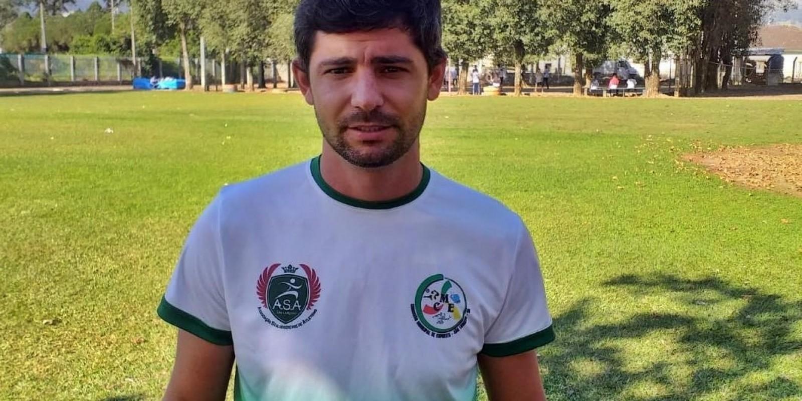 Professor de São Ludgero, Jemerson Fernandes, convocado para integrar Comissão Técnica da Seleção Brasileira de Atletismo Sub-20
