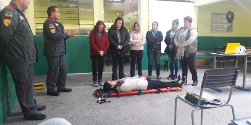 Projeto de Lei de Vereadora capacitou professores em Primeiros Socorros no município de Bom Jardim da Serra
