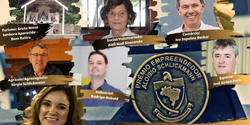 Empreendedores serão homenageados em São Ludgero