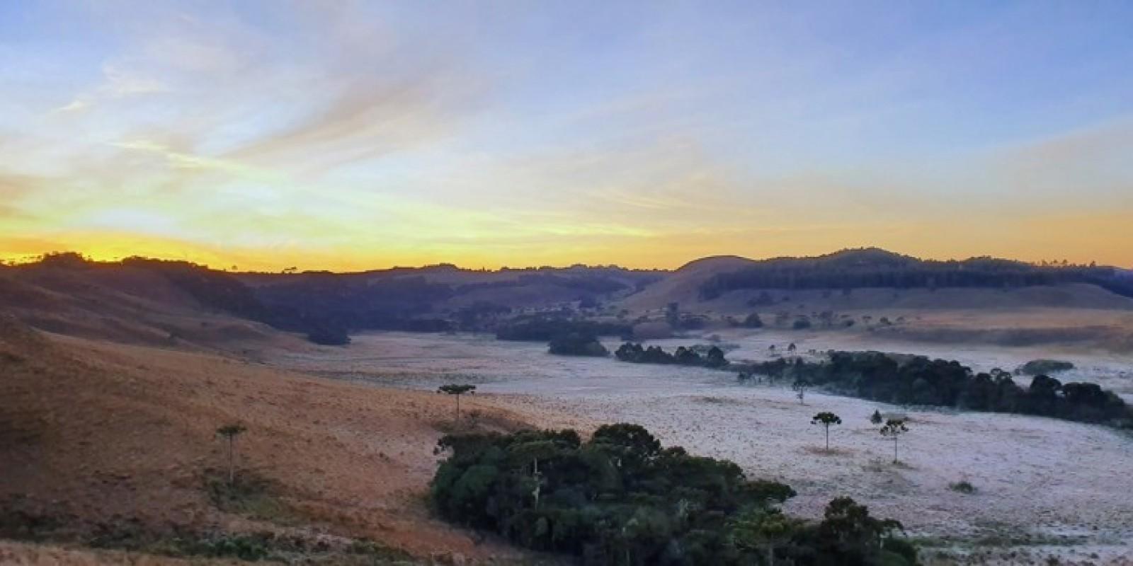 Há seis anos Serra Catarinense não registra oito dias consecutivos de temperaturas negativas