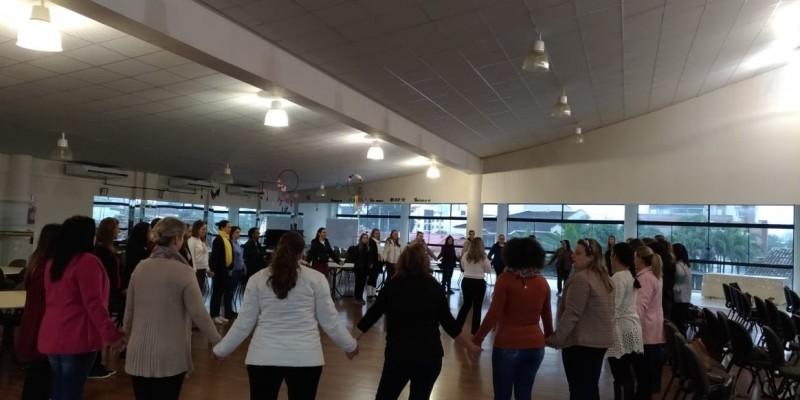 Segundo semestre inicia com reuniões, planejamentos e formação continuada na Rede Municipal de Ensino de São Ludgero