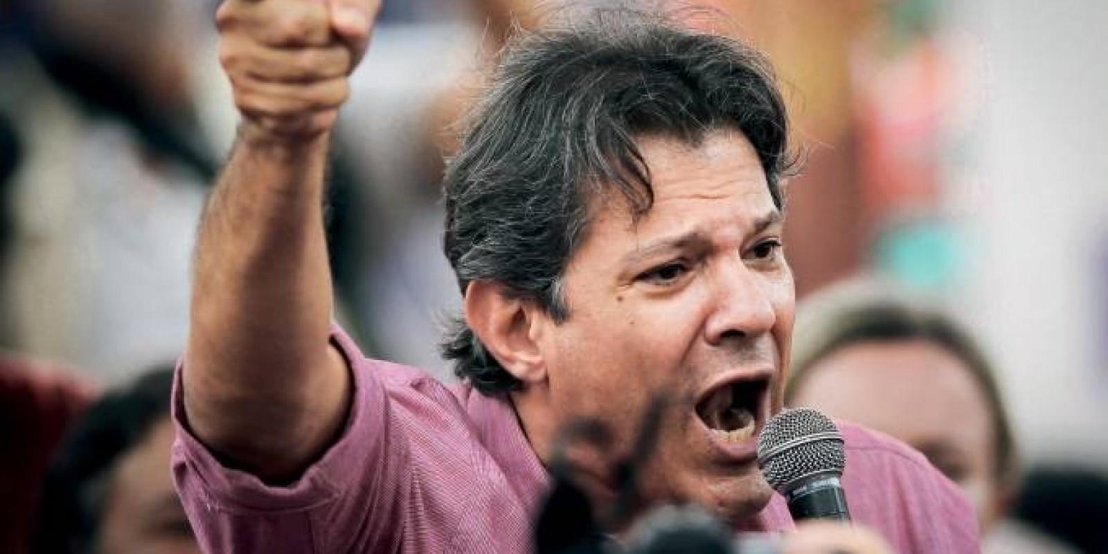 Justiça condena Haddad a 4 anos de prisão por caixa dois em eleição