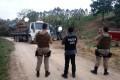 Polícia apreende madeira extraída ilegalmente, em Grão - Pará