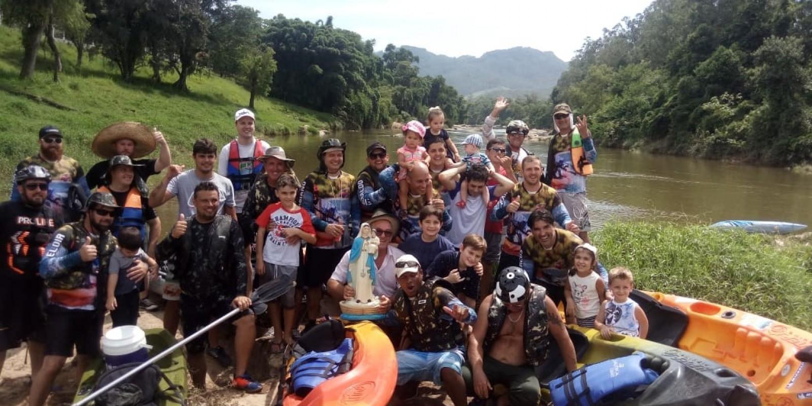 Grupo de caiaques de São Ludgero participará de Desfile Cívico