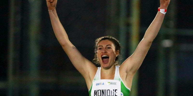 Monique Varmeling é vice-campeã do Troféu Brasil Caixa de Atletismo Adulto 2019