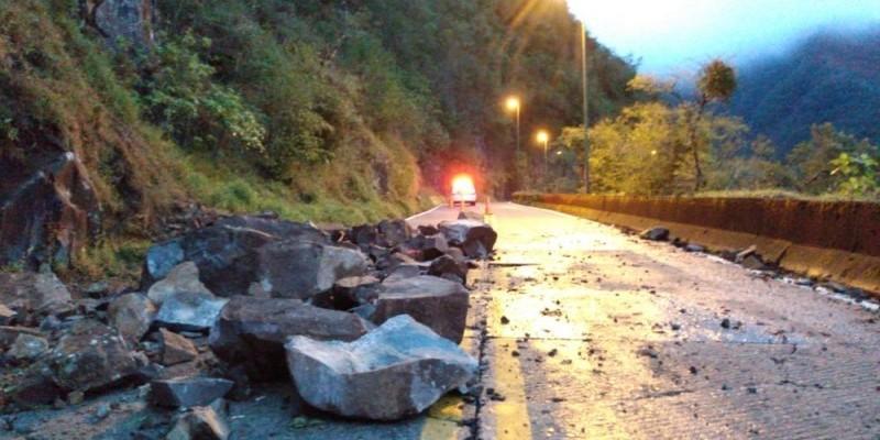 Novo desmoronamento de terra é registrado na Serra do Rio do Rastro