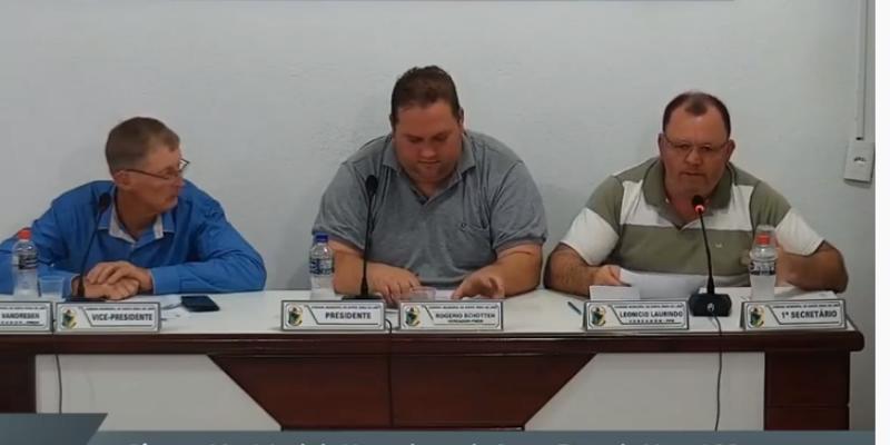 4 Indicações são aprovadas na sessão desta terça - feira, 01, na Câmara Municipal de Santa Rosa de Lima