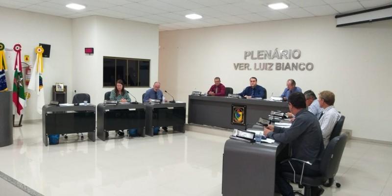 Confira como foi a sessão de terça – feira, 29 de outubro, na Câmara Municipal de São Ludgero.